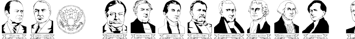 Free Font LCR American Presidents