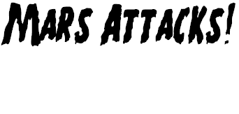 Free Font Mars Attacks