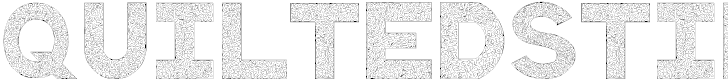 Free Font QuiltedStippled