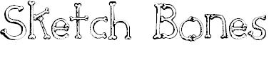 Font bones fontbat halloween holidays pirates skeleton share this font