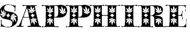 Free font sapphire sativa