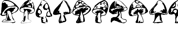 Free Font Shrooms