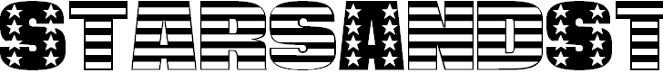 Free Font Stars And Stripes