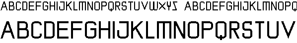 Free Font screenman
