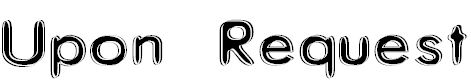 Free Font Upon Request