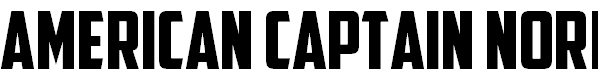 Free Font American Captain