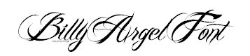 Download billy argel font font