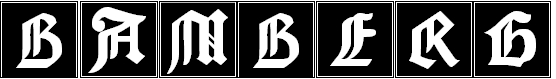 Free Font Bamberg Initials
