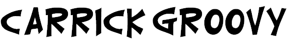 Free Font Carrick Groovy