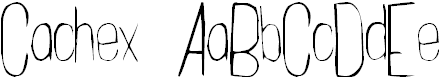 Free Font Cachex