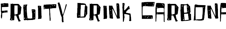 Free Font Fruity Drink