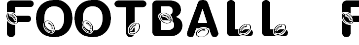 Free Font KR Football Fun