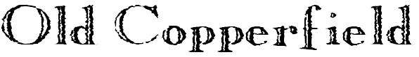 Free Font Old Copperfield