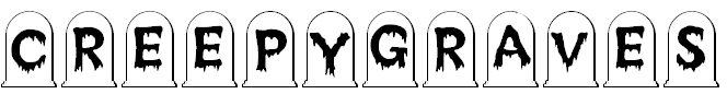 Free Font Creepy Graves